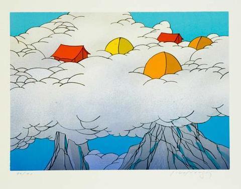 Josef Velčovský - Vysoko v oblacích