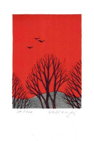 Josef Velčovský - Podzim a ptáci