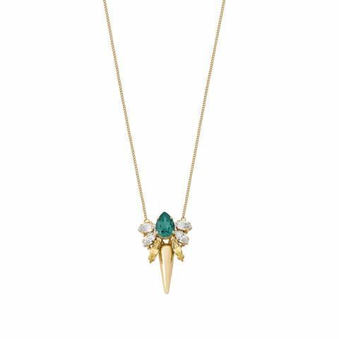 Pozlacený náhrdelník Les Demoiselles MDS1.03