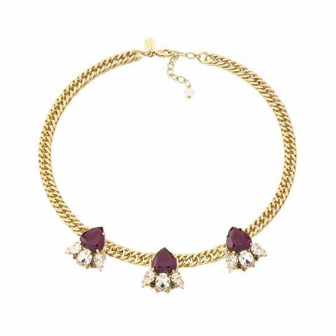 Pozlacený náhrdelník Les Demoiselles MDS1.11
