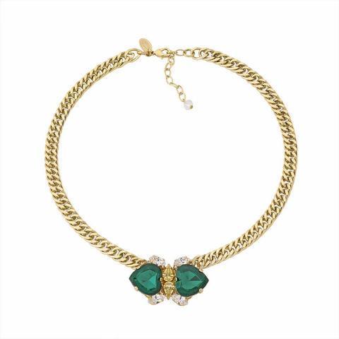 Pozlacený náhrdelník Les Demoiselles MDS1.12