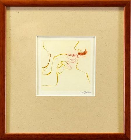 Ota Janeček - Dívčí prs a muž s knírem
