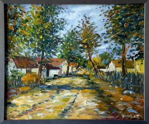 Pavel Holešínský - Podzimní krajina