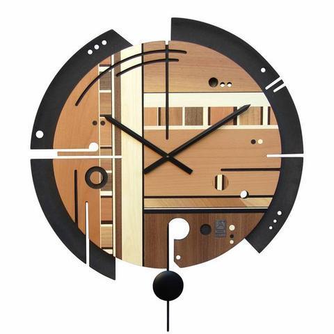 Nástěnné hodiny Samada Contrast - 1