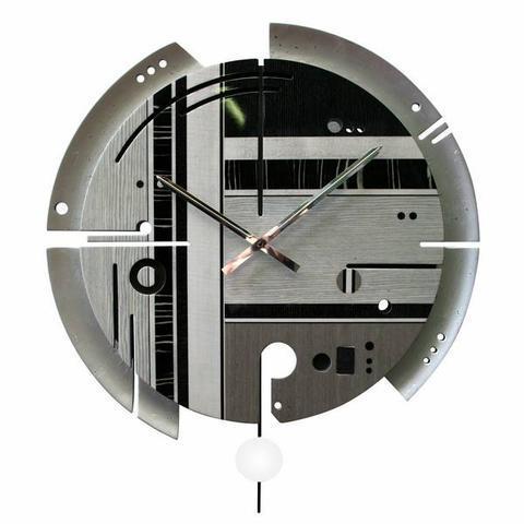 Nástěnné hodiny Samada Silver - 1
