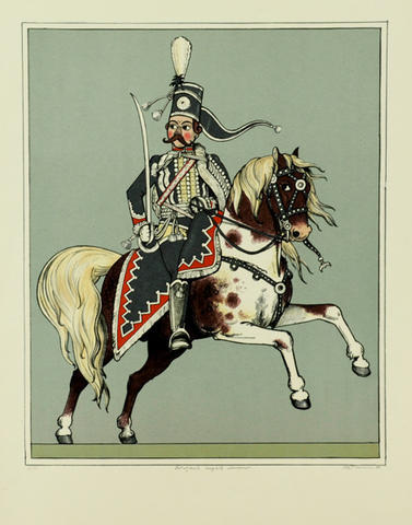 Karel Toman - Důstojník černých husarů
