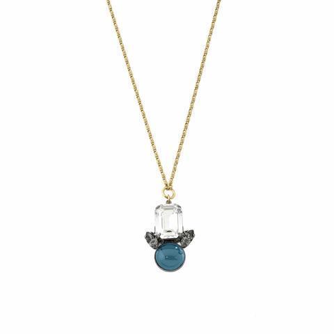 Pozlacený náhrdelník Tsarina TS 1.01