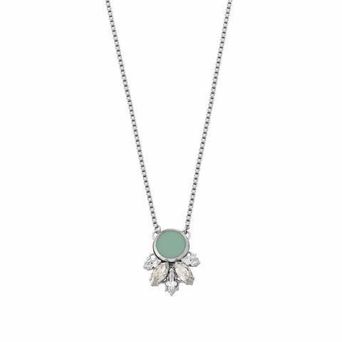 Postříbřený náhrdelník Twiggy TWG 1.01