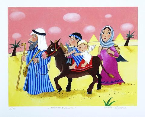 Vlasta Švejdová - Návrat z Egypta