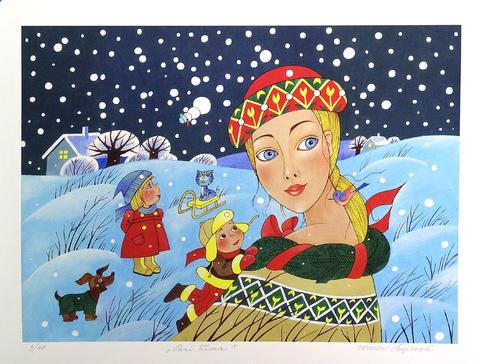 Vlasta Švejdová - Paní Zima