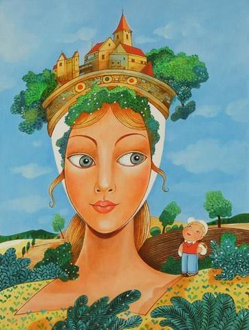 Vlasta Švejdová - Výlet k hradní paní