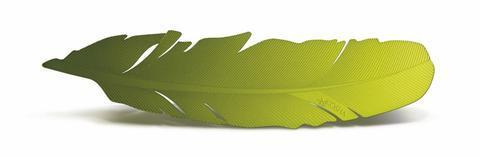 Záložka do knihy Kosha Inox Green  - 1