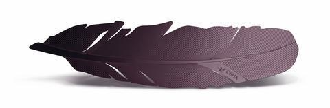 Záložka do knihy Kosha Inox Purple  - 1
