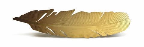Záložka do knihy Kosha Yellow Gold  - 1