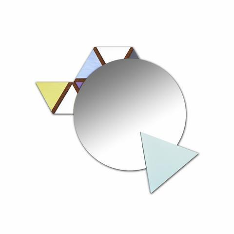 Nástěnné zrcadlo Triangoli - 1