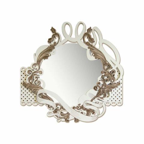 Nástěnné zrcadlo Marrone Shaby  - 1