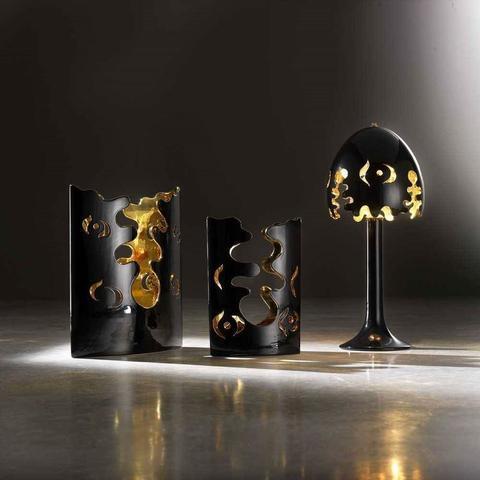 Keramická váza Fiordi černá 315/40 - 2