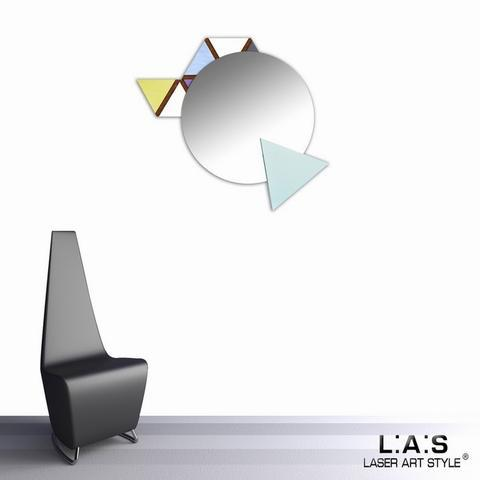 Nástěnné zrcadlo Triangoli - 2