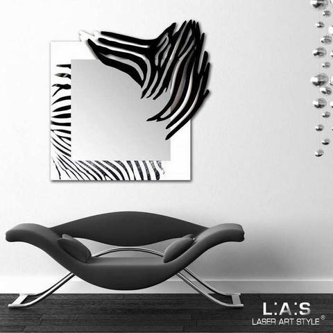 Nástěnné zrcadlo Zebra - 2