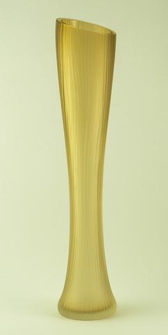 Skleněná váza Sfumati Tabacco 60 cm - 2