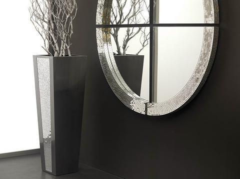 Ručně vyrobená váza Cachaeira černá - 2