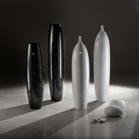 Ručně vyrobená keramická váza Glare Swarovski - 2