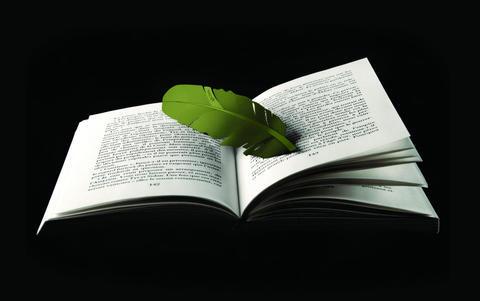 Záložka do knihy Kosha Olive Green - 3