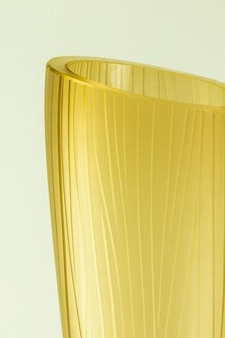 Skleněná váza Sfumati Tabacco 60 cm - 3