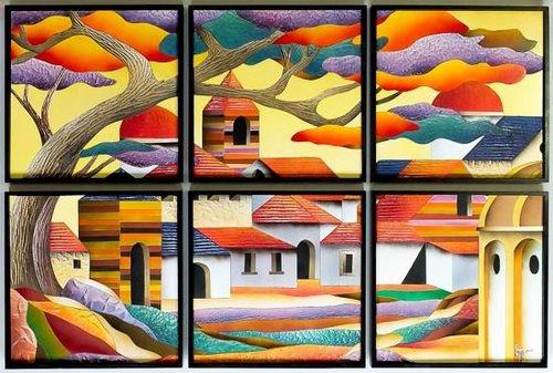 Ricardo Campero obraz Letní Mexiko - DioArt