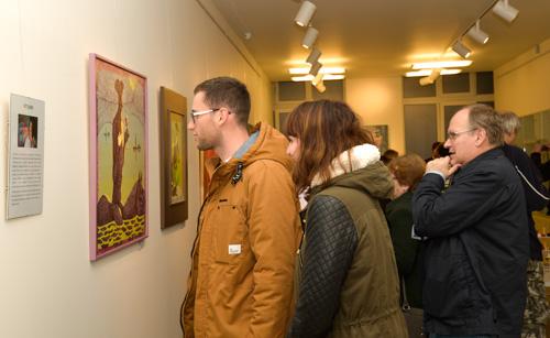 Vernisáž Víta Johna v galerii DioArt