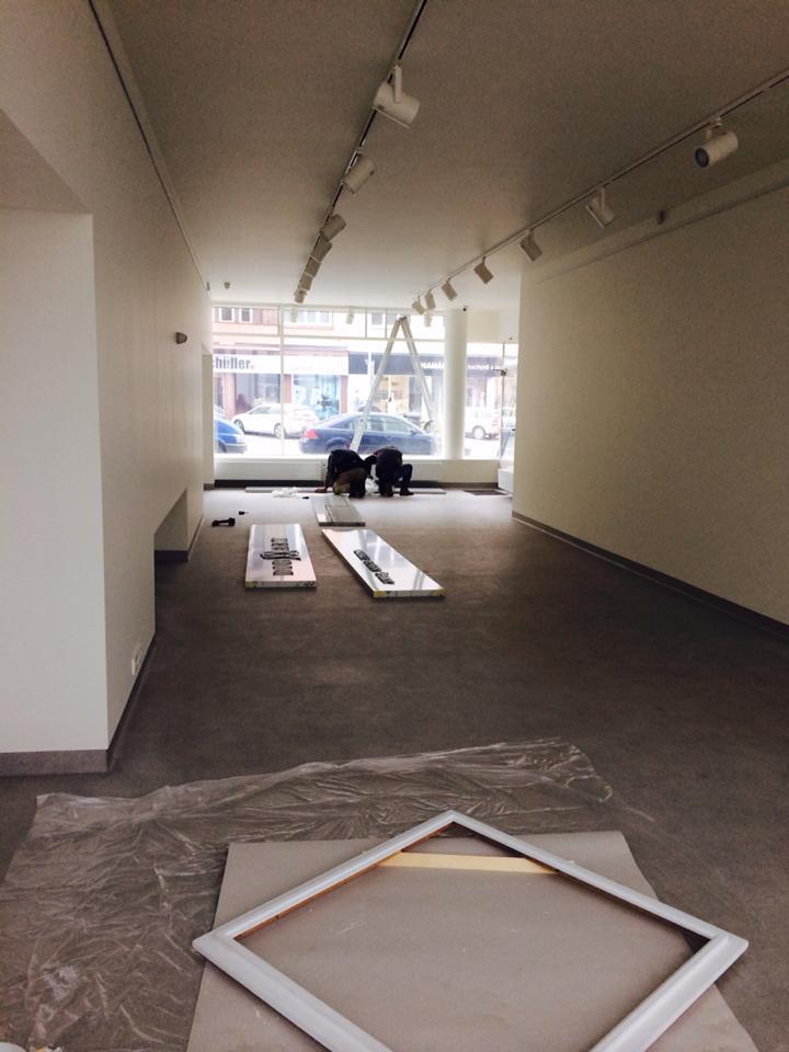 Rekonstrukce galerie