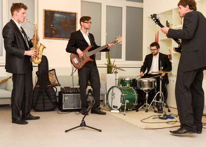 Jazzový večírek v galerii DioArt